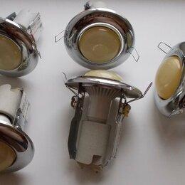 Настенно-потолочные светильники - Светильники потолочные Feron 2767 R50 CP. Б/у, 0