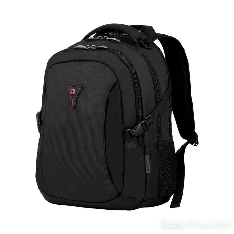 """Рюкзак Wenger 16"""", черный,  37x26x45 см, 25 л по цене 5850₽ - Рюкзаки, фото 0"""