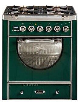 Плиты и варочные панели - Газовая плита с духовым шкафом ILVE MCA-70D-E3, 0
