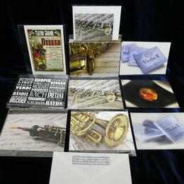 Открытки - Открытка закладка магнит с музыкальной символикой, 0