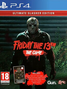 Игры для приставок и ПК - Видеоигра Friday the 13th: The Game Ultimate…, 0