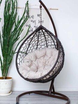 Плетеная мебель - Плетеное подвесное кресло из ротанга, 0