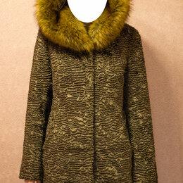 Шубы - Шуба из экомеха Тиссавель, бренда Unreal fur coat, 0
