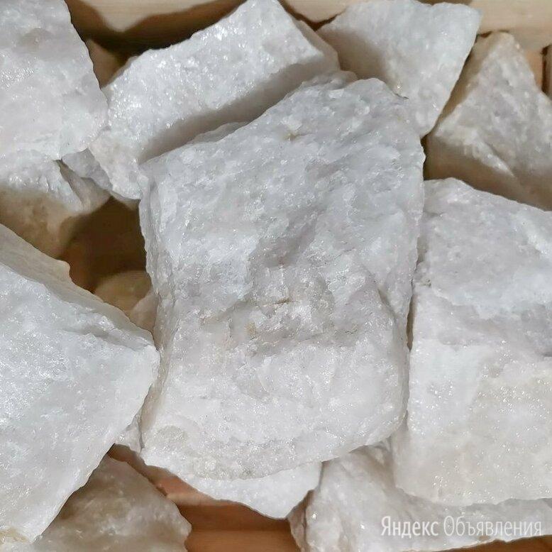 Камень для бани Кварц белый колотый по цене 45₽ - Камни для печей, фото 0