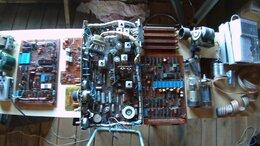 Радиодетали и электронные компоненты - Радиодетали, трансформаторы и два радиоприемника, 0