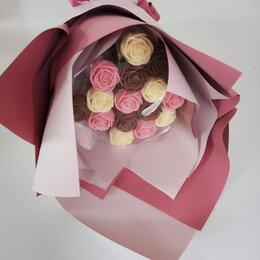 Продукты - Шоколадные розы ручной работы , 0