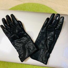 Перчатки и варежки - перчатки кожаные с перфорацией,  размер 7  , 0
