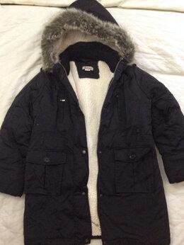 Куртки и пуховики - Удлиненная куртка на овчине размер 128/64/60, 0