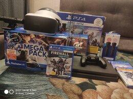 Игровые приставки - Playstation 4 + шлем ps vr+ ps move + ps camera…, 0