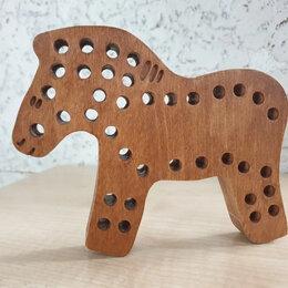 Развивающие игрушки - Лошадка - шнуровка, 0