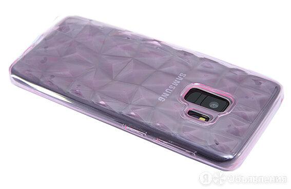 Чехол-накладка для Samsung G960F S9 JZZS Diamond TPU розовая по цене 120₽ - Защитные пленки и стекла, фото 0