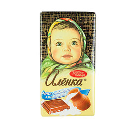 Ингредиенты для приготовления напитков - Шоколад Аленка много молока 90 г, 0
