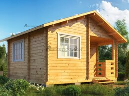 Готовые строения - Садовый домик из мини-бруса 5х4 «Балтийский бриз», 0