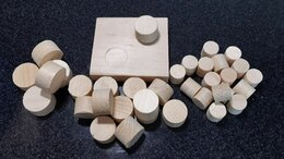 Пиломатериалы - Деревянные заглушки, пробки, чёпики (чопики), 0