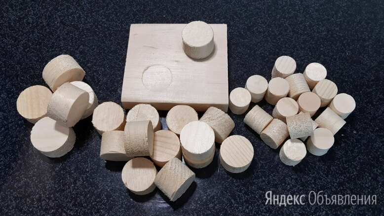 Деревянные заглушки, пробки, чёпики (чопики) по цене 3₽ - Пиломатериалы, фото 0
