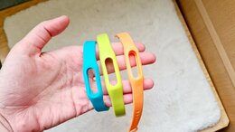 Аксессуары для умных часов и браслетов - Ремешки для Xiaomi Mi Band 1s Pulse, 0