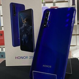Мобильные телефоны - Honor 20 6/128Gb Сапфировый синий , 0