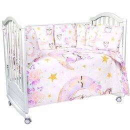 Покрывала, подушки, одеяла - Новый Набор в кроваку PATRINO  (17предметов), 0