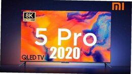"Телевизоры - Телевизор Xiaomi MI TV 5 PRO 65"" QLED, 0"