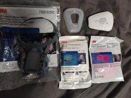 Средства индивидуальной защиты - Респиратор маска 3M 7502 с фильтрами суперкомплект, 0