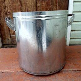 Бочки и купели - Бак, ёмкость из нержавейки на 40 литров. Диаметр 40см, высота 41см, толщина 1мм., 0