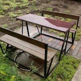 Комплекты садовой мебели - стол с лавками для беседки терассы, 0