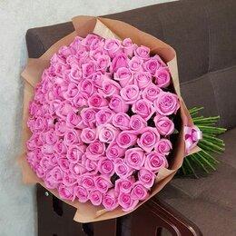 Цветы, букеты, композиции - 101 роза. Букет №90, 0