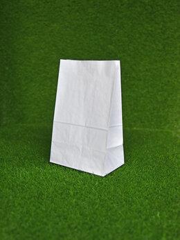 Бумага и пленка - Крафт пакет без ручек 290х180х120 мм (белый), 0