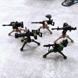 Конструкторы - Набор для лего Пулемёты, 0