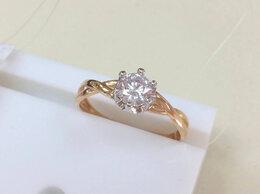Кольца и перстни - Золотое кольцо с Фианитами женское, размер 17,0, 0