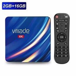ТВ-приставки и медиаплееры - Смарт ТВ-приставка X96 Max 2-16Гб Allwinner H616…, 0