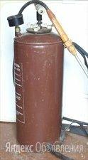 Стальной садовый 10 литровый опрыскиватель с манометром по цене 500₽ - Ручные опрыскиватели, фото 0
