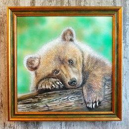 Картины, постеры, гобелены, панно - Картина Медвежонок, 0