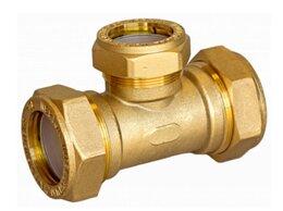 Водопроводные трубы и фитинги - Тройник Neptun IWS 32х25х32 EF, 0