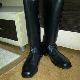 Обувь для спорта - Сапоги хромовые для конного спорта выездковые 44размера, 0