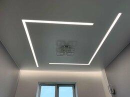 Люстры и потолочные светильники - Световые линии на натяжном потолке, 0