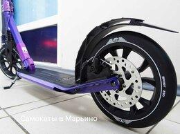 Самокаты - Самокат на больших колесах и ручным тормозом, 0