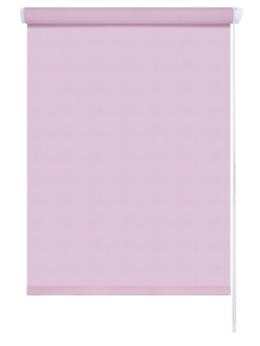 Римские и рулонные шторы - Мини-штора рулонная Декор 47х175 розовый, 0
