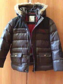 "Куртки и пуховики - Куртка пуховик для мальчика ""Barilotto "",р.140, 0"