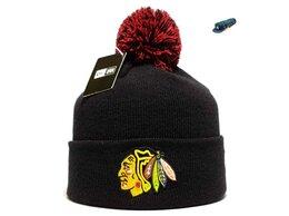 Головные уборы - Шапка мужская Chicago Blackhawks NHL New Era , 0