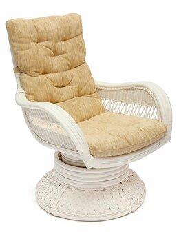 Плетеная мебель - Кресло-качалка из ротанга, 0