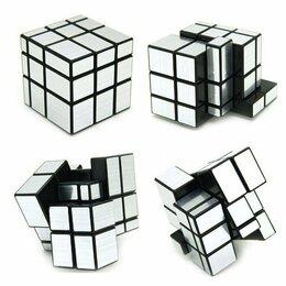 Головоломки - Игра головоломка Зеркальный Кубик 3х3 Серебряный, 0