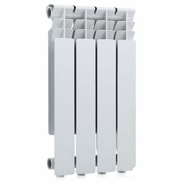 Радиаторы - Радиатор алюминиевый UNITECH 500/80 - 4 сек., 0
