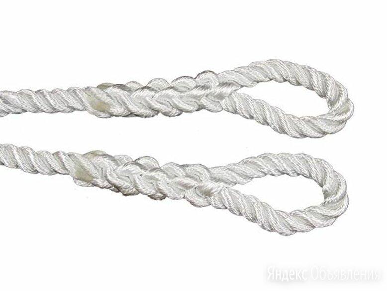 Трос буксировочный полиамидный д.32 мм L=7,0 м по цене 4130₽ - Веревки и шнуры, фото 0