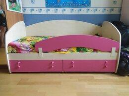Кроватки - Детская кровать со съёмным бортиком, 0