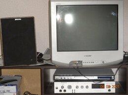 Телевизоры - 2-телевизора Сони, УНЧ радиотехника-101,акустика…, 0