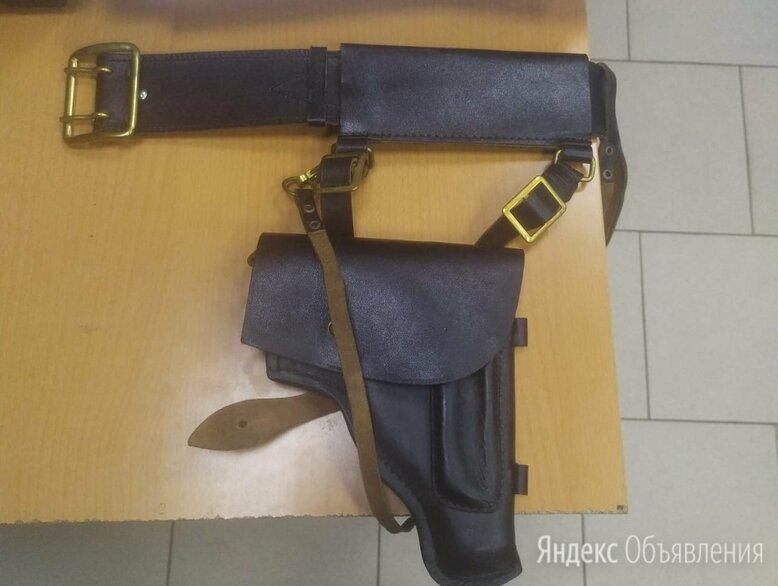 Кожаный ремень для офицера вмф оригинал + по цене 1900₽ - Ремни и пояса, фото 0