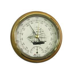 Метеостанции, термометры, барометры - Барометр Утес БТК-СН-14 с закрытой белой шкалой, 0