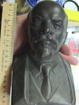 Статуэтки и фигурки - бюст Ленин,сплав цветного металла,скульптор…, 0