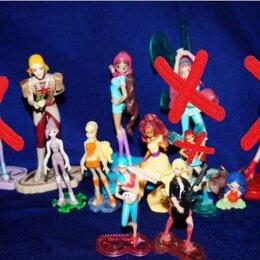 Куклы и пупсы - Winx Club куклы (пластик) из детского журнала Winx, 0